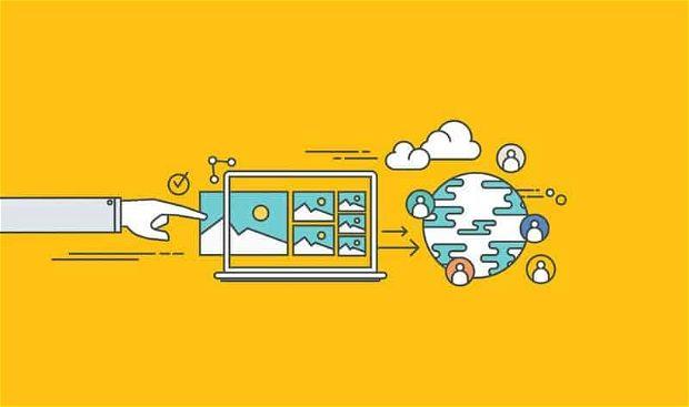 Scegliere l'hosting provider, rappresentazione grafica.