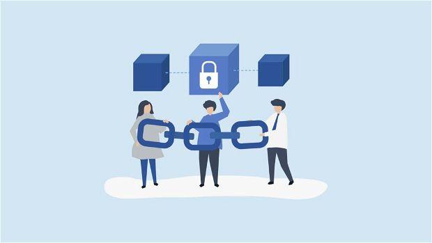 Blockchain per le aziende. Immagine rappresentativa.